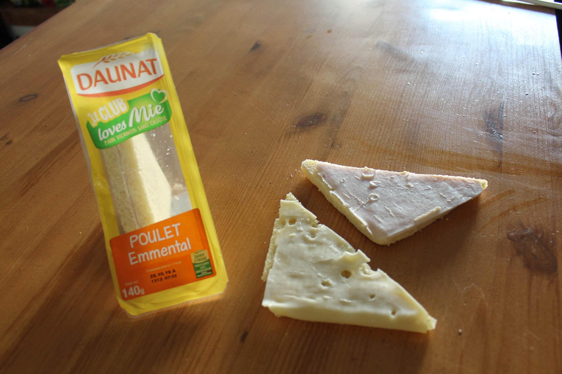 sandwich daunat garniture
