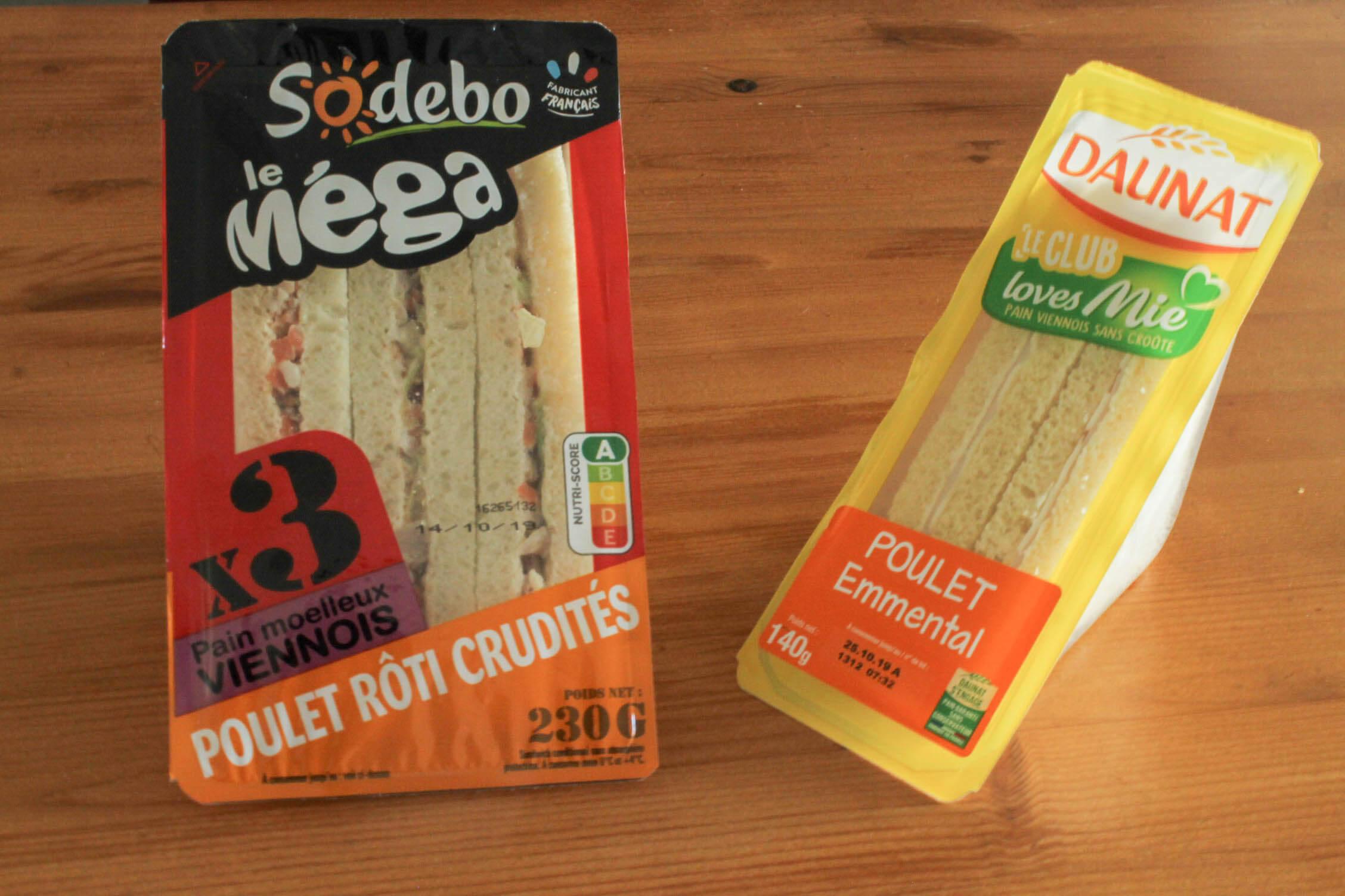 sandwich industriel sodebo daunat