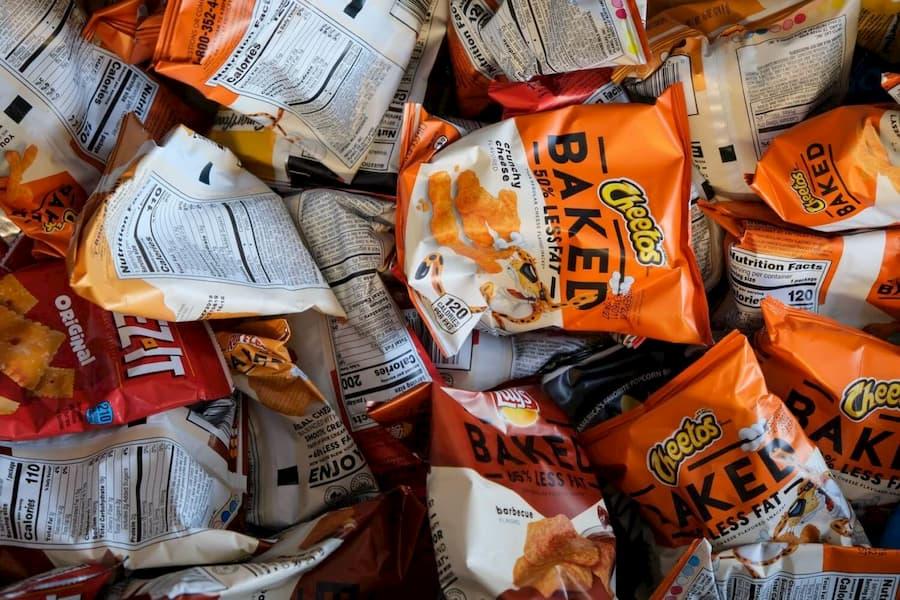 nourriture industrielle chips