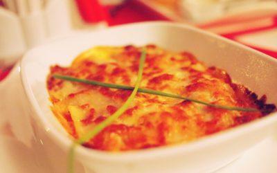 Recette de lasagnes au foie gras pour Noël