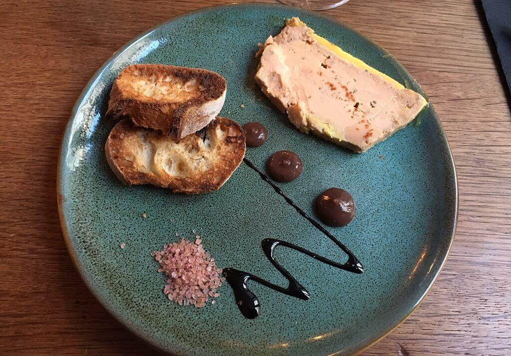 restaurant foie gras bordeaux
